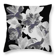 Azalea Branch Throw Pillow