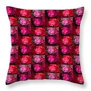 Azalea Garden Canopy1 Throw Pillow