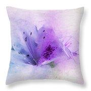 Azalea Splash 2 Throw Pillow