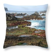 Azores Seascape Throw Pillow