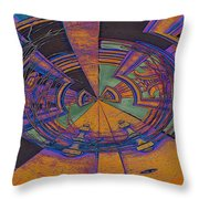 Aztec Abstract Throw Pillow