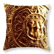 Aztec Gold Photograph Throw Pillow