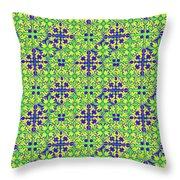 Azulejos Magic Pattern - 08 Throw Pillow