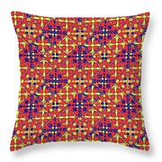 Azulejos Magic Pattern - 10 Throw Pillow