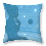 Azure Throw Pillow