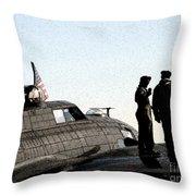 B-17 Throw Pillow