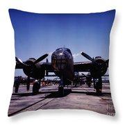 B-25 Bombers Throw Pillow