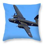 B-25 Mitchell, Doolittle Raiders Throw Pillow