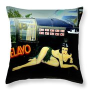 B-25 Mitchell Throw Pillow