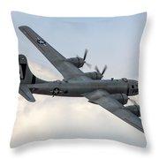 B-29 Superfortress Throw Pillow