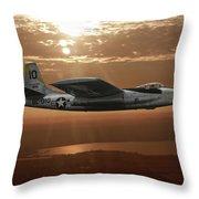 B-45c Tornado Throw Pillow