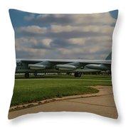 B-52 City Of Riverside Throw Pillow