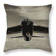 B-52 Stratofortress Triptych - 2 Throw Pillow