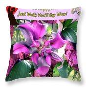 B Exton  Flowering Of Delights  Bigstock 164301632  2991949 Throw Pillow