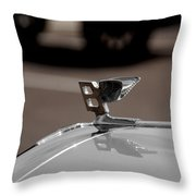 B For Bentley  Throw Pillow