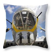 B Seventeen Nose Throw Pillow