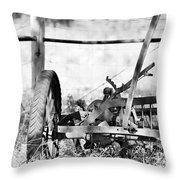 B/w 135 Throw Pillow