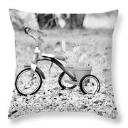 B/w033 Throw Pillow