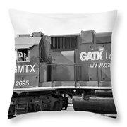 B/w33 Throw Pillow