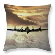B17 Dawn Throw Pillow