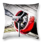 B25 Abstract Throw Pillow