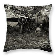 B25 Mitchell Throw Pillow
