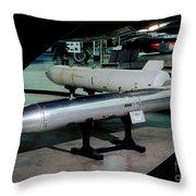 B61 Nuclear Bomb Usaf Throw Pillow