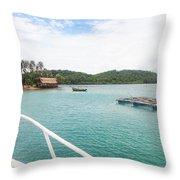 Ba Lua Archipelago Throw Pillow