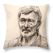 Bab Throw Pillow