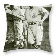 Babe Ruth All Stars Throw Pillow