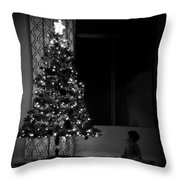 Baby And Tree Throw Pillow