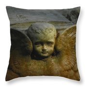 Baby Angel Throw Pillow