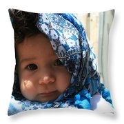 Baby Blues Jerusalem Throw Pillow