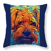 Baby Bo I C Throw Pillow