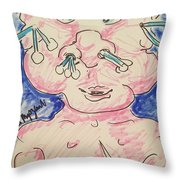 Baby Care Throw Pillow