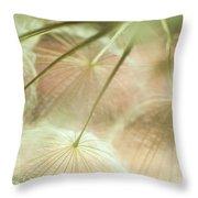Baby Dandelion Throw Pillow