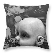 Baby Face Throw Pillow