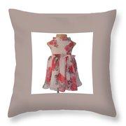 Baby Girl Dresses Dresses For Girls - Faye Throw Pillow