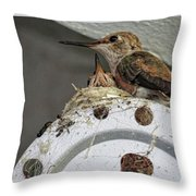 Baby Hummers 2 Throw Pillow
