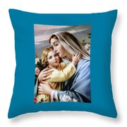 Baby Jesus Throw Pillow