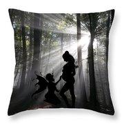 Baby Magic 589 Throw Pillow