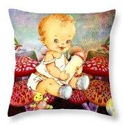 Baby Magic Throw Pillow