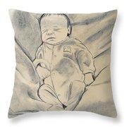 Baby Sleeping Throw Pillow