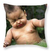 Baby Sneeze Throw Pillow