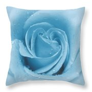 Baby Soft - Blue Throw Pillow