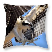 Baby Step Throw Pillow