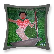 Baby Suggs Throw Pillow
