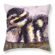 Baby Whister Throw Pillow