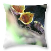 Baby Wrens In The Flowers 338 Throw Pillow