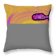 Babyfishes With Sweet Mommy Throw Pillow